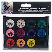 Cosmic Shimmer Iridescent Watercolor Palette Set 2-Carnival Brights