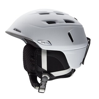 Smith Optics Camber Asian Fit Adult Snow Sports Helmet - Matte White