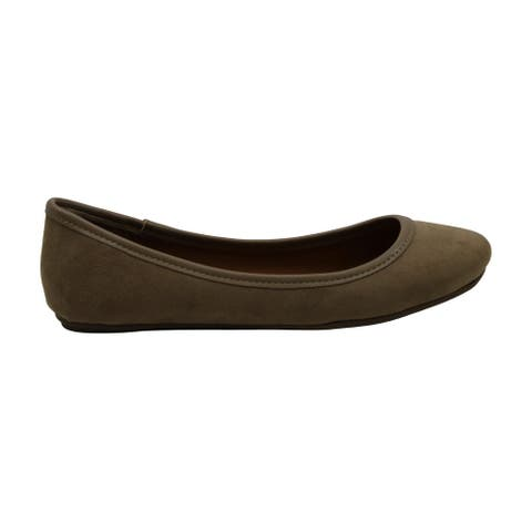 American Rag Womens Cellia2 Almond Toe Slide Flats