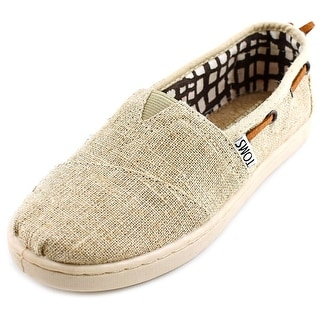 Toms 01213c13 Round Toe Canvas Sneakers