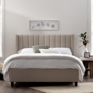 Link to Brookside Adele Vertical Upholstered Bed Similar Items in Bedroom Furniture