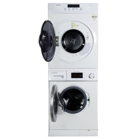 Equator Stackable Washer Dryer Set EW 824N + ED 860 V