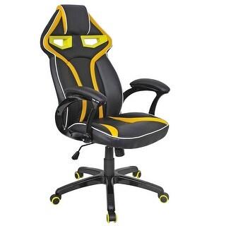 Costway Racing Bucket Seat Office Chair High Back Gaming Chair Desk Task Ergonomic