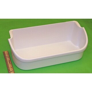 NEW OEM Frigidaire Refrigerator Door Bin Basket Shelf Originally Shipped With FRS6LE4FW5, FRS6LR5EW2, FRS6R3EW1