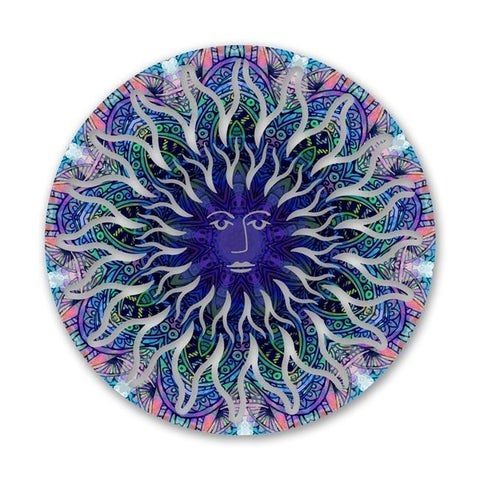 Next Innovations 101410003-ALCHEMY Alchemy Sun Face Metal Wall Art