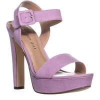 madden girl Rollo Heeled Sandals, Lavender - 6 us