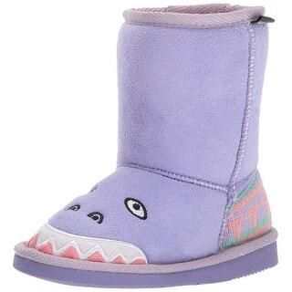 MUK LUKS Kids' Cera Dinosaur Fashion Boot - 9 m us little kid