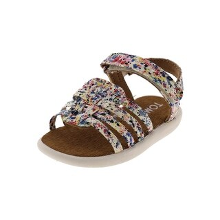 Toms Girls Huarache Sandals Strappy Lightweight