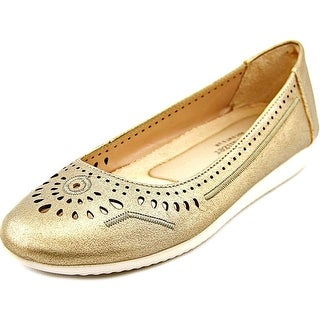 Naturalizer Kana  Women W Round Toe Leather  Flats
