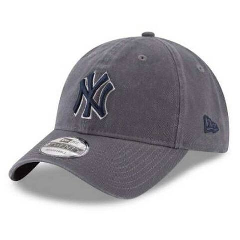 competitive price b9073 1abd5 New Era MLB New York Yankees Graphite Core Classic 9Twenty Baseball Hat  11591580