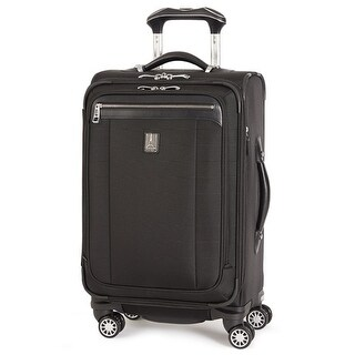"Travelpro Platinum Magna 2-Black 21"" Nylon Fabric Expandable Spinner Suiter w/ Duraguard Coating"