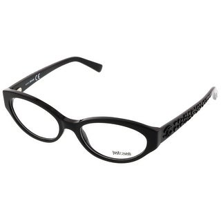 Just Cavalli JC0522/V 001 Black Oval Optical Frames - 53-17-140