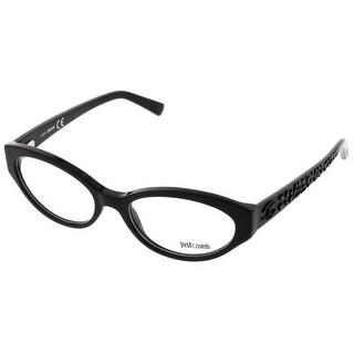 Just Cavalli JC0522/V 001 Black Oval Optical Frames - 53-17-140