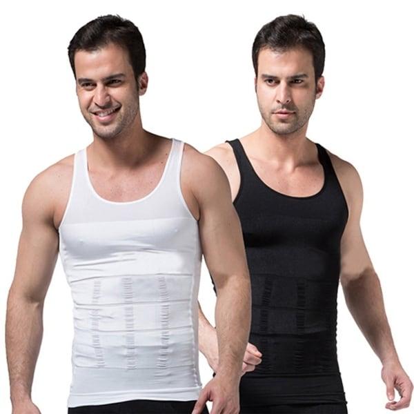 32ade0130 Men  x27 s Slimming Body Shaper Waist Training Corset Tank Top Underwear  Shapewear