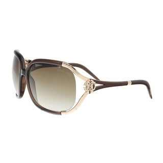 Roberto Cavalli RC3705 692 TALISIA Brown/Gold Round Sunglasses - 62-17-120