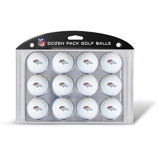 Team Golf 30803 Denver Broncos Dozen Ball Pack