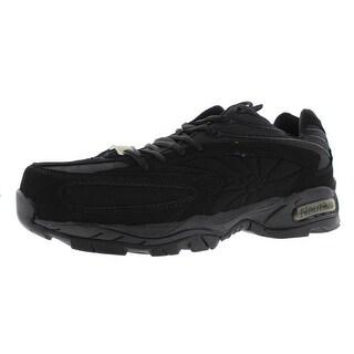 Nautilus Mens Microsuede Steel Toe Work Shoes - 11 wide (e)