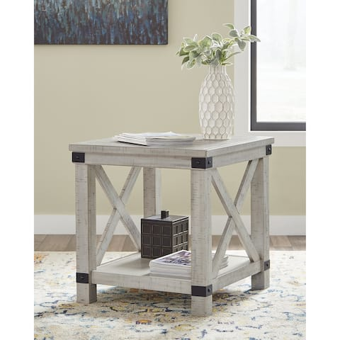 "Carynhurst Rectangular End Table - 24""W x 26""D x 25""H"