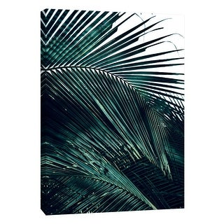 """PTM Images 9-105928  PTM Canvas Collection 10"""" x 8"""" - """"Contemporary Palm Leaves 2"""" Giclee Palms Art Print on Canvas"""