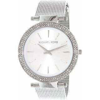 Michael Kors Women's Darci MK3367 Silver Stainless-Steel Quartz Fashion Watch