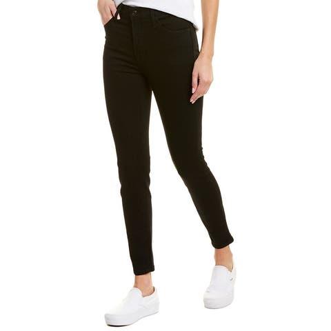 J.Crew Jeans High-Rise Toothpick Black Rinse Skinny Leg