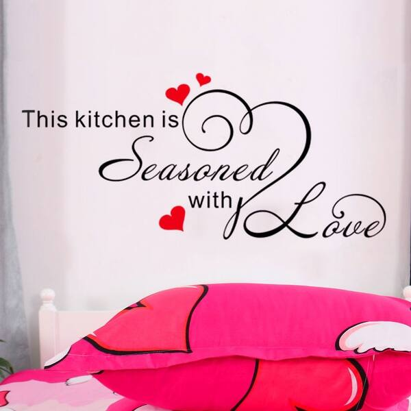 Decor Removable Diy Vinyl Wall Art Sticker Family Decal 23 6 X11 8 On Sale Overstock 22854457