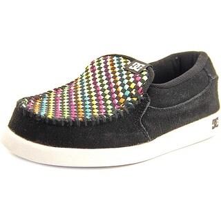 DC Shoes Villain SE Round Toe Leather Skate Shoe