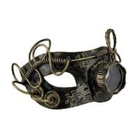 Metallic Steampunk Monocle Eye Mask