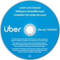 Uber 27311 Laser Lens Cleaner For Cd, Dvd & Blu-Ray(Tm)