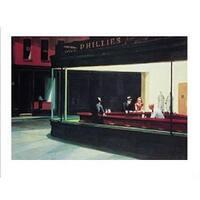 ''Nighthawks'' by Edward Hopper Museum Art Print (11 x 14 in.)