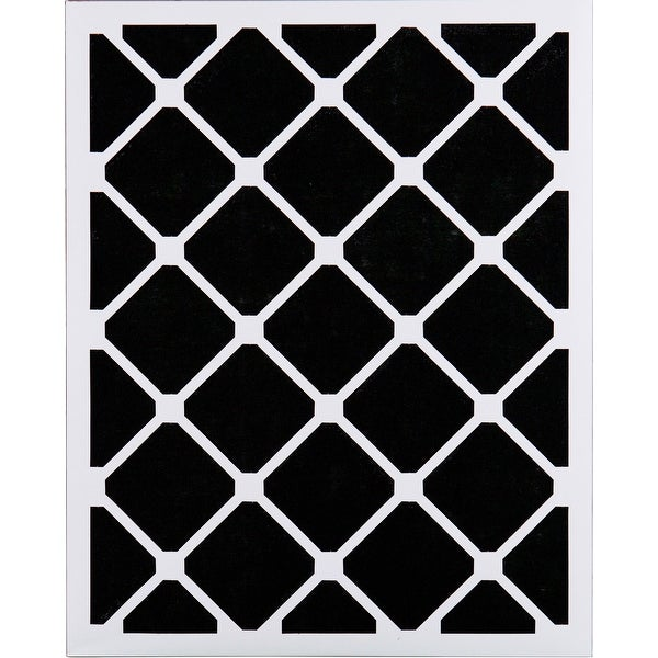 Nordic Pure 18x18x1 Exact MERV 8 Pure Carbon Pleated Odor Reduction AC Furnace Air Filters 4 Pack