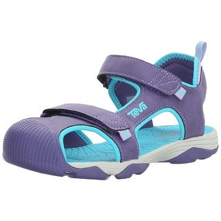 Teva Girls Toachi 4 Ankle Strap Slide Sandals (2 options available)