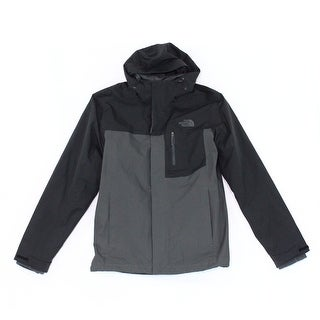 The North Face NEW Men's Black Size Small S Hooded Colorblock Jacket
