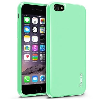 Insten Mint Green Jelly TPU Rubber Candy Skin Case Cover For Apple iPhone 7