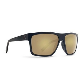 Vonzipper Sunglasses Dipstick Black Satin Gloss Duo Gold Glo