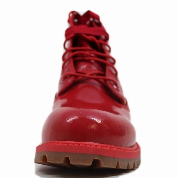 Shop Timberland 6 Inch Premium Waterproof Red Shine TB0A151B