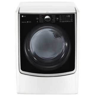 LG DLGX5001 27 Inch Wide 7.4 Cu. Ft. Energy Star Rated Gas Dryer with SmartThinQ