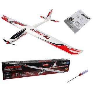 Costway Volantex Phoenix Evolution RC Glider Airplane Sailplane PNP Brushless No Radio