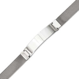 Stainless Steel Mesh with ID 7.75in Bracelet