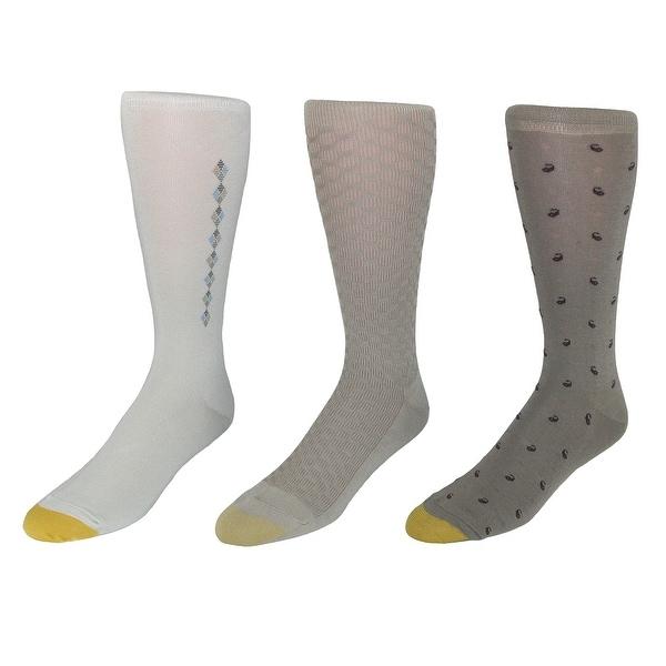 Gold Toe Men's Fashion Dress Socks (3 Pair Pack)