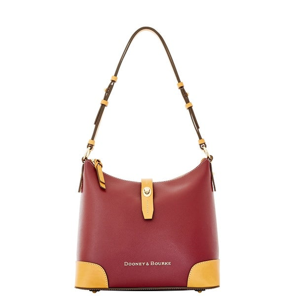 Dooney & Bourke Claremont Hobo (Introduced by Dooney & Bourke at $248 in Jul 2014) - Bordeaux