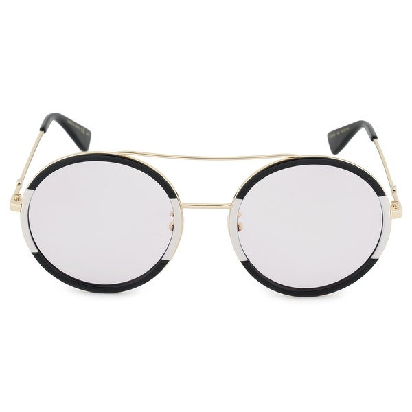 d1bcd6ece9 Shop Gucci Gucci Round Sunglasses GG0061S 006 56 - Free Shipping ...