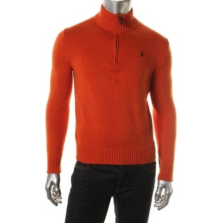 Polo Ralph Lauren Mens Knit Funnel Neck Pullover Sweater - M