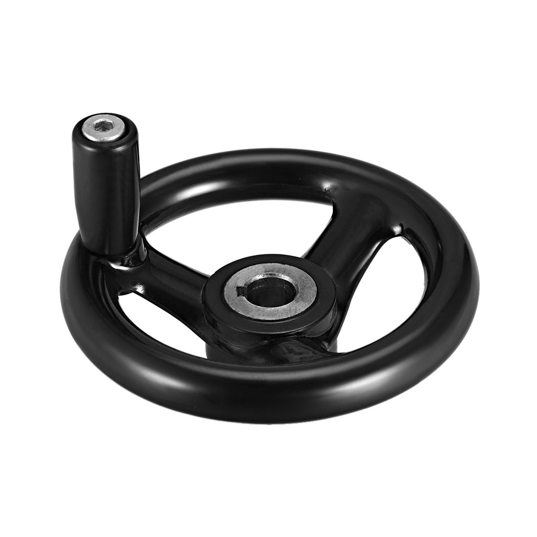 Hand Wheel 100 mm Diameter 12 mm Hole Diameter for milling Machine 2 Pieces
