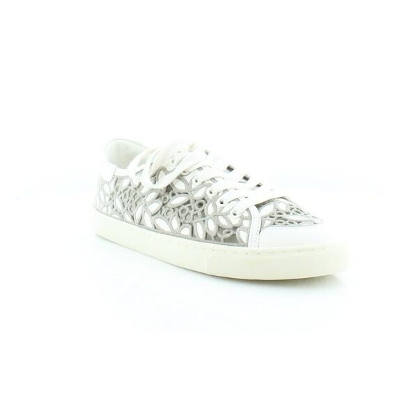 d416fd68c Shop Tory Burch Rhea Women s Fashion Sneakers Ivory Cement - Free ...