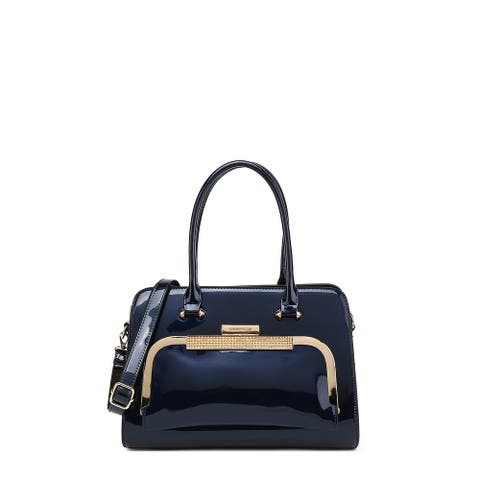 Style Strategy Patent Leather Bag