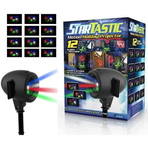 Startastic Holiday Laser Lights Projector Movie Slide 12 Modes