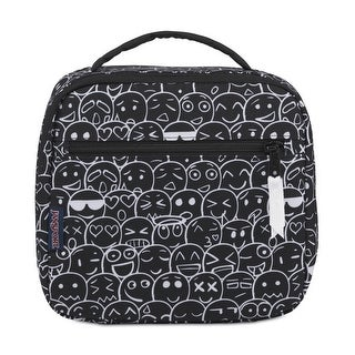 Jansport Mens Emoji Lunch Bag, Black, One Size - One Size (Black)
