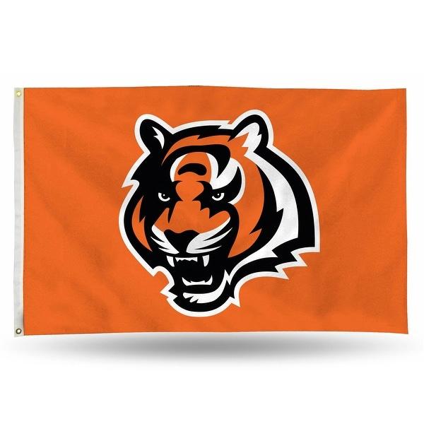 3' x 5' Orange and Black NFL Cincinnati Bengals Rectangular Banner Flag - N/A