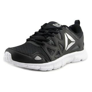 Reebok Run Supreme 3.0 MT Women Round Toe Canvas Black Running Shoe